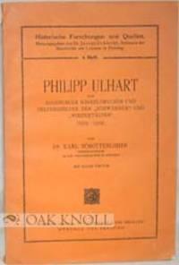 München und Freising: Dr. F. P. Datterer & Cie, 1921. stiff paper wrappers. Ulhart, Philipp. 8vo. s...