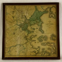 image of Framed Map of Boston, County of Suffolk and the Adjacent Towns 1830