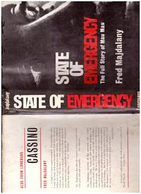 STATE OF EMERGENCY - by  FRED MAJDALANY - First  Edition. - 1962 - from BOOKLOVERS PARADISE and Biblio.co.uk