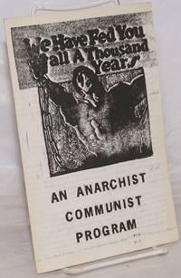 image of An Anarchist Communist Program