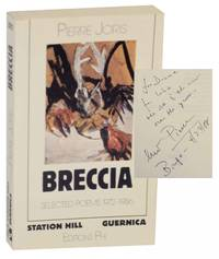 Breccia: Selected Poems 1972-1986 (Signed First Edition)