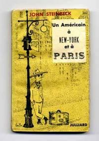 image of Un Américain à New-York et à Paris  - 1st Edition/1st Printing