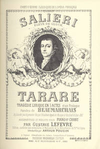 Tarare. [Piano-vocal score]