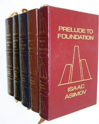 Foundation Series: 7 Volumes in 5 Leatherbound Books