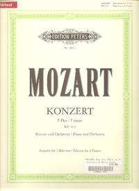 Mozart Concerto Nr. 11 in F Major KV 413 for Piano and Orchestra Edition for 2 Pianos
