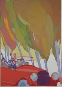 Paris: Édition de la Guirlande, 1921. Limited Edition. Half Morocco. Marbled Boards.. Near Fine. No...