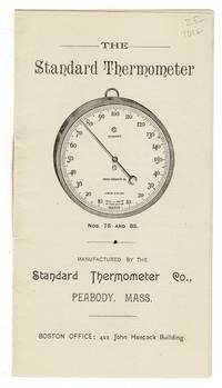 The standard thermometer [cover title]