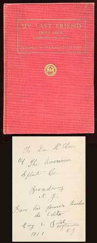(Boston): (Stratford Company), 1916. Hardcover. Very Good. First edition. Translated by J.G. Lista. ...