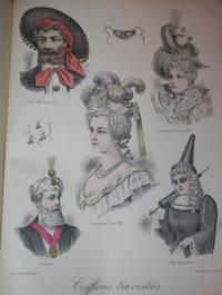 Album de Coiffures Travesties Premiere Serie.  Modeles de la Coiffure Francaise Illustree 1889 - 1898