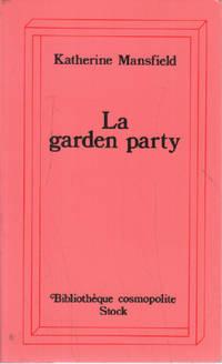 image of La garden-party : et autres histoires
