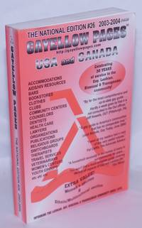 image of Gayellow Pages: USA & Canada #26; 2003-2004; the national edition