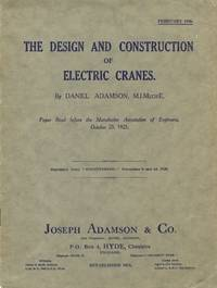 The Design and Construction of Electric Cranes