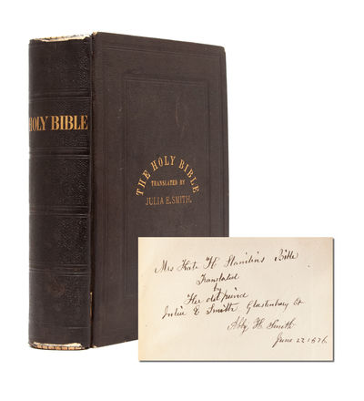 Hartford: American Publishing Co, 1876. First edition. First appearance of the Julia Smith translati...