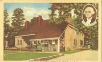 Washington's Headquarters, 1776 at Newburgh, New York 1947 used linen Postcard