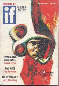 """IF Worlds of Science Fiction: July / August, Aug. 1970 (""""What's Become of..."""