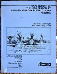 image of Final Report of the 1983 Season at Head-Smashed-in Buffalo Jump, Alberta