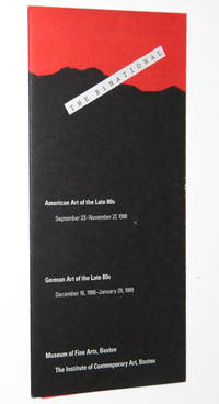 The Binational, American Art of the Late 80's & German Art of the Late 80's, Exhibition Brochure