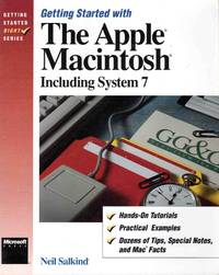 image of Getting Started with the Apple MacIntoch Including System 7