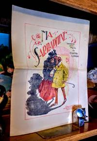 Ma Sarraphine [ Sheet Music ].  Exaggerated ethnic stereotype cover illustration of a well dressed African American couple leaving the theatre