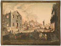 View of the Ruins after the Great Fire in New York, Dec. 16th & 17th, 1835 as seen from Exchange Place