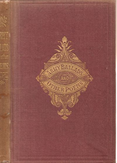 Good. 1871. First Edition; First Printing. Hardcover. Violet cloth covered boards have blind-stamped...