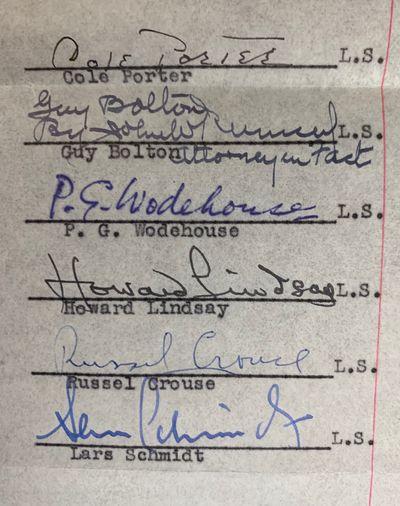 Signed Memorandum of Agreement for...