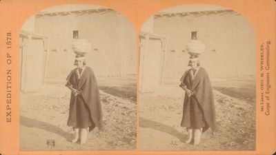 War Department, Corps of Engineers, U. S. Army. Very Good. Stereoview from Lieutenant George M. Whee...