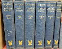 Dictionary of American History 1940 Complete in 6 Vol.