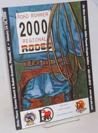 2000 Roadrunner Regional Rodeo souvenir program, Corona Ranch & Rodeo Grounds, Phoenix, AZ, Jan. 15-17, 1999