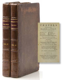 Travels through France and Italy containing Observations on Character, Customs, Religion, Government, Police, Commerce, Arts and Antiquities. With a particular Description of the Town, territory, and Climate of Nice; to which is Added, a Register of the Weather, kept during a Residence of Eighteen Months in that City