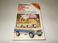 Chilton's Repair Manual Dodge Plymouth Vans 1967-88