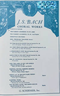 Mass in B Minor for Soli, Chorus and Orchestra