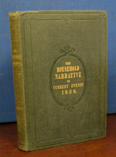 London, 1850. 1st volume edition (NCBEL III, 818). Original green publisher's cloth with gilt spine ...