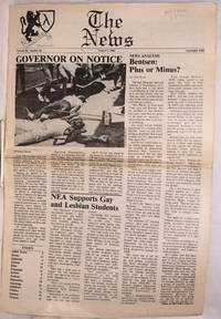 image of The News: vol. 3, #10, August 5, 1988