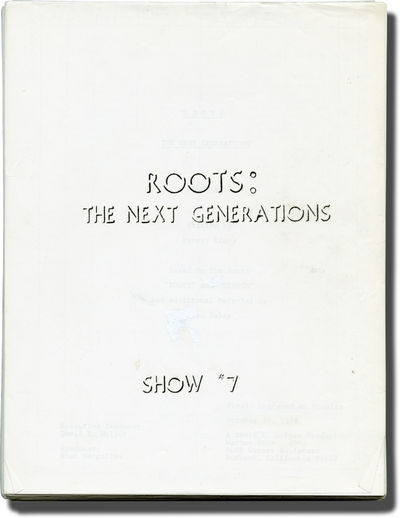 Burbank, CA: American Broadcasting Company , 1978. Final Draft script for the season one, episode se...