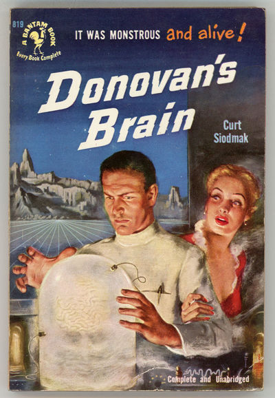 New York: Bantam Books, 1950. Small octavo, pictorial wrappers. First mass market paperback edition....