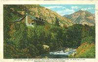 The Hermitage, Ogden Canyon, Utah, Union Pacific System unused Postcard