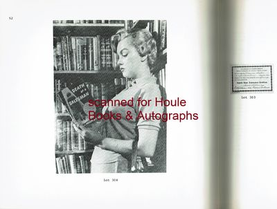 October 21, 1973. First edition. Octavo. Illustrated auction catalogue. Original stiff print wrapper...