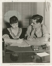 image of Original press photo of Dorothy Parker and Alan Campbell, 1934