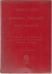 Estudos, Ensaios E Documentos 48. Contribution A La Connaissance de la Geologie de la Province...
