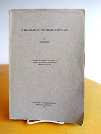 A Grammar of the Wappo Language