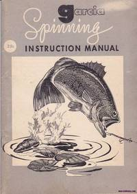image of Garcia Spinning Instruction Manual