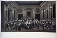 Fellows of the Royal Society. Autotype (carbon-process) composite photographic print by Herbert R. Barraud