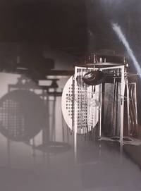 Light Prop for an Electric Stage by Laszlo Moholy-Nagy, 1930