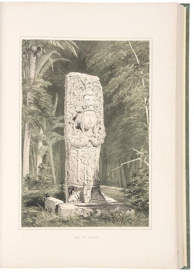New York: F. Catherwood, 1844. Folio. (21 1/4 x 14 1/8 inches). Chromolithographic title by Owen Jon...