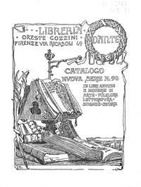 Catalogo Nuova Serie no.98/ Dicembre 1998 : Libri Antichi e Moderni Di  Arte, Folklore, Letteratura, Scienze, Storia.