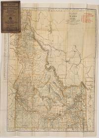 Rand McNally Indexed Pocket Map, Tourist' and Shippers' Guide of Idaho