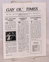 image of Gay Ol' Times: Gay and Lesbian Alliance newsletter; issue no. 76 May 1989