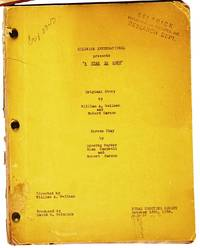A STAR IS BORN ARCHIVE: The Director's Copy of the Original 1936 Script as well as Dorothy Parker's Copy of Part of the Script with additional material