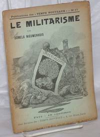 image of Le Militarisme et l'Attitude des Anarchistes et Socialistes révolutionnaires devant la guerre